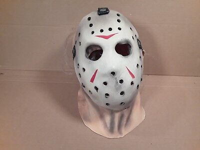 Halloween Mask Jason Friday The 13th Rubber Mask Costume cosplay