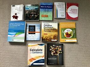 Textbooks for Trent Nursing program
