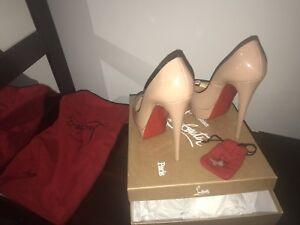 Christian Louboutin (Lady Peep) fits size 8 (size 39) $980
