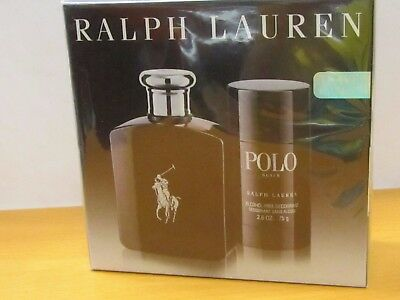 Polo Black Set By Ralph Lauren Men Cologne 4.2 oz EDT Spray / 2.5 oz Deodorant