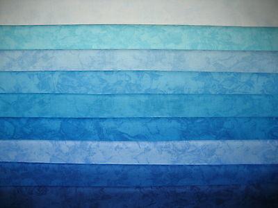Patchwork Quilt Stoff - Michael Miller Krystal türkis blau 16,00 €/m Blau Quilten Stoff