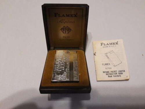 Flamex Alpina Butane Pocket Lighter