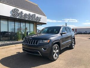 2016 Jeep Grand Cherokee Limited LEATHER! SUNROOF! NAV!