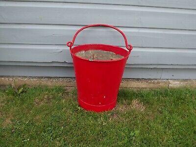 Vintage Fire Bucket, Ideal Planter Pot