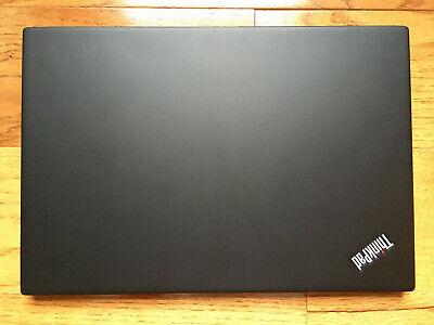 "Lenovo ThinkPad T480S 14"" i7-8650U 1080P 16GB 256GB 500GB SSD Best Condition #3"