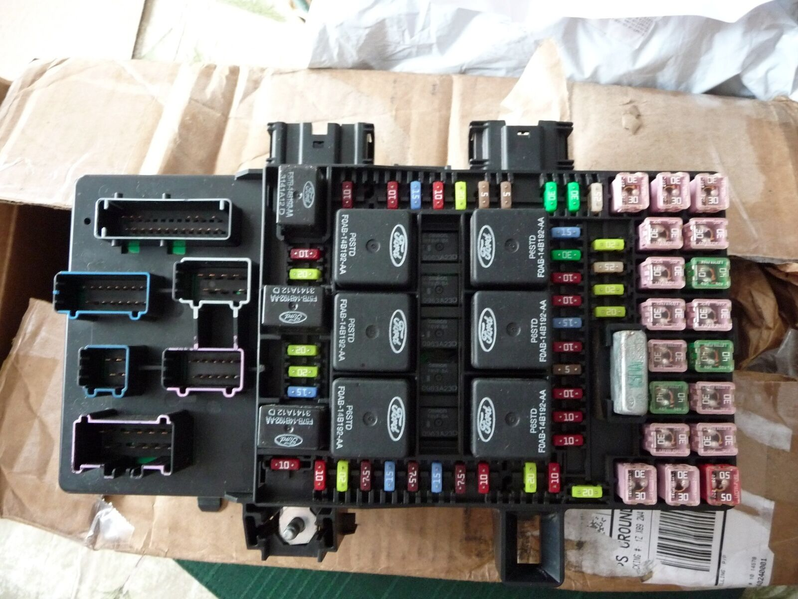 2003-2006 Ford Expedition / Lincoln Navigator Fuse Box ...