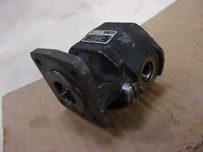 Haldex John Barnes Corp. 7225514-00 Small Hydraulic Gear Oil Pump Single Stage