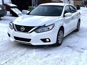 2016 white Nissan Altima 2.5L 4cyl WARRANTY