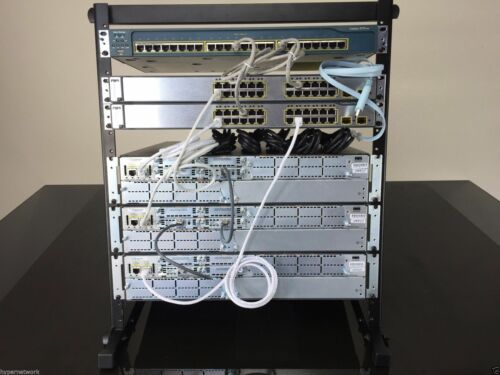 NEW CISCO CCNA v3.0 & CCNP V2.0 R&S VOICE SECURITY LAB KIT