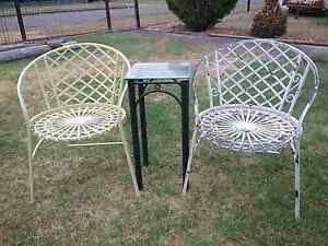 Vintage rustic wrought iron setting for  2   $100 TODAY ONLY Cessnock Cessnock Area Preview