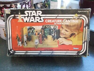 Vintage Star Wars Kenner Creature Cantina Box Box Only