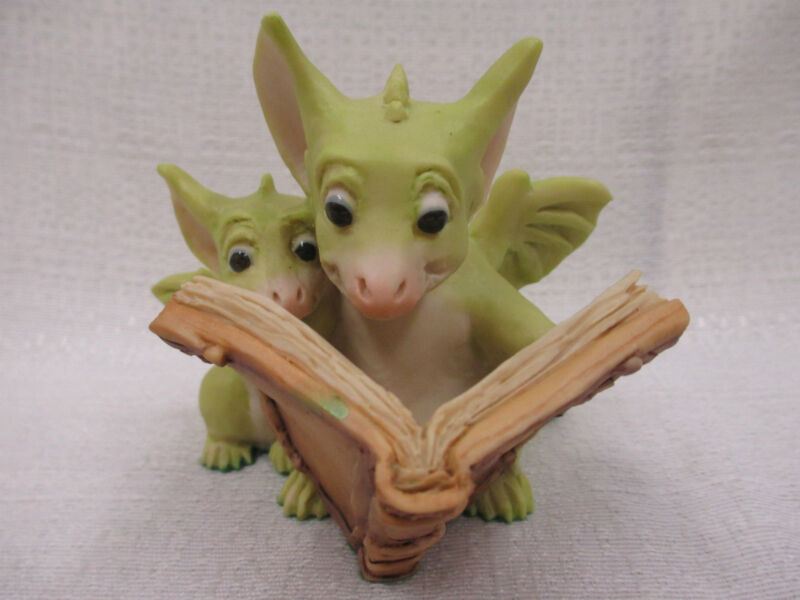 Whimsical World Of Pocket Dragons Reading The Good Parts Real Musgrave NIB