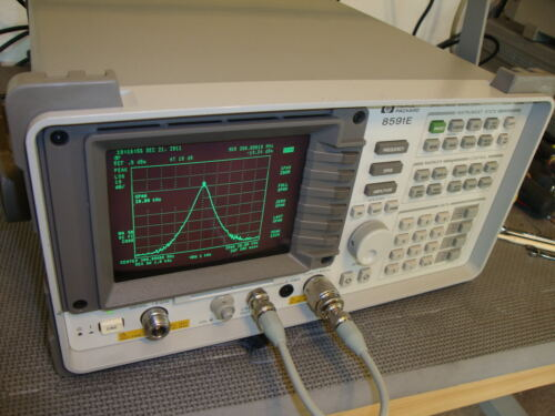 HP Agilent 8591E Spectrum Analyzer/ with TRACKING GENERATOR pick your options!
