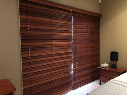 Western red cedar blinds in great condition