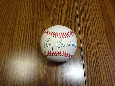 Roy Smalley Signed Auto OAL Baseball PSA/DNA Certified Autograph