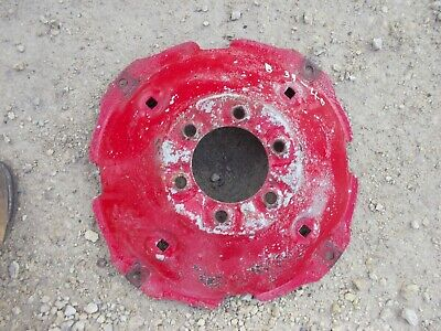 Farmall B Bn Tractor Ih Wheel Center Hub To Rim Early 1939-40 Model