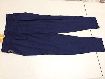 - NEW Gymboree Girls Knit Pants Navy Blue Silver Sparkle Butterfly Garden 8