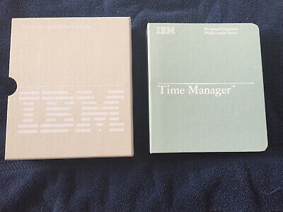 IBM TIME MANAGER SOFTWARE FOR THE 5150 PC - 6024019 for sale  Ransomville