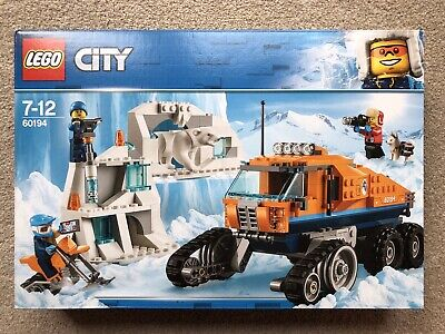 LEGO 60194 CITY ARCTIC EXPEDITION ARCTIC SCOUT TRUCK 100% complete Box Manual