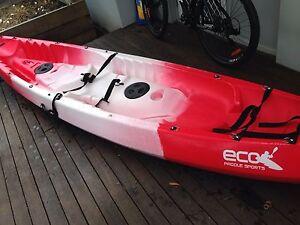 Tandem kayak Petrie Pine Rivers Area Preview