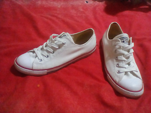 Brand New, Converse Dainty White Size 7 Redbank Plains Ipswich City Preview