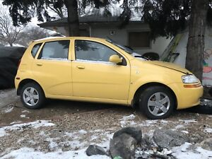 2007 Chevy Aveo LT .... FOR PARTS ONLY