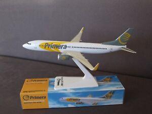 Primera Air Boeing B737-800  Premier Portfolio Push Fit Model 1:200 SM737-157