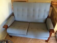 Solid retro lounge sofa 2 + 1 seater Meringandan West Toowoomba Surrounds Preview