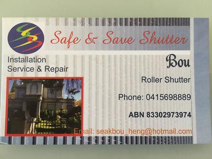 Cheap roller shutter