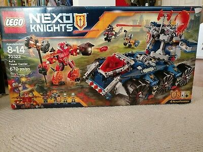 LEGO NEXO KNIGHTS AXL'S TOWER CARRIER - 70322 - NEW (670 Piece)