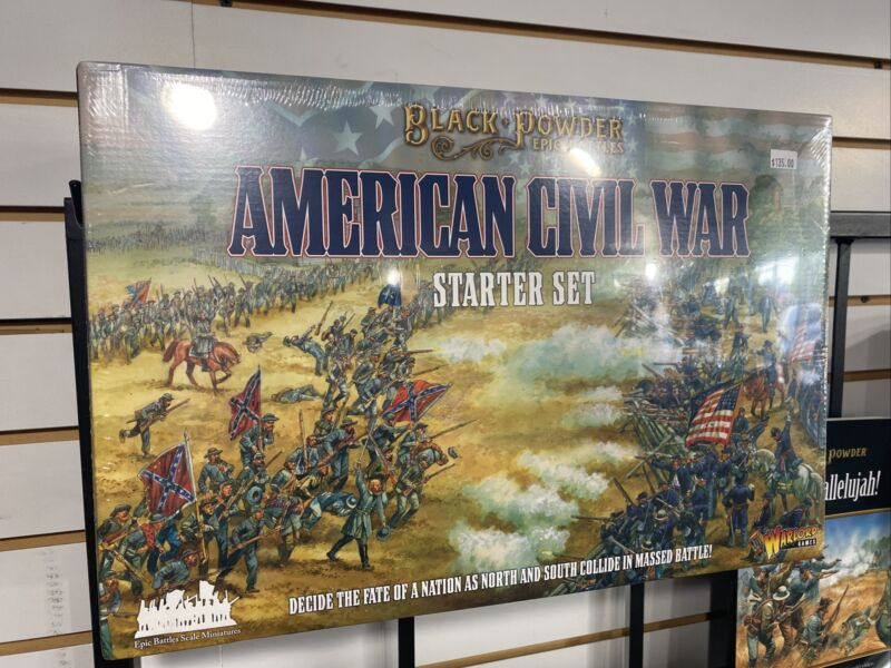 Black Powder Epic Battles 311514001 American Civil War (Starter Set) Warlord ACW