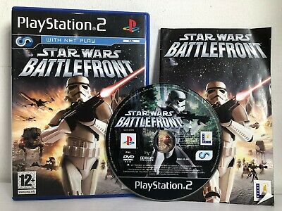 PS2 - Star Wars: Battlefront  (PlayStation 2) UK Stock