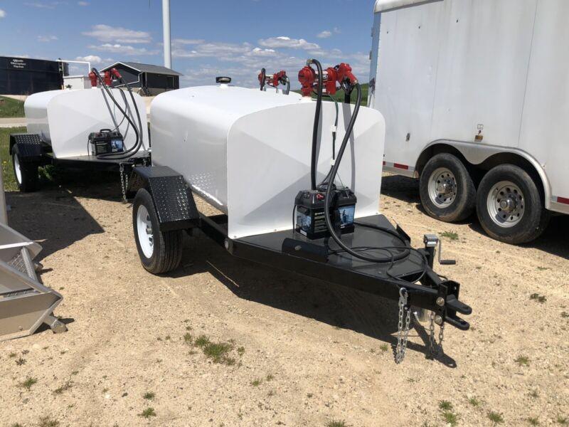 300 Gallon fuel tank trailer
