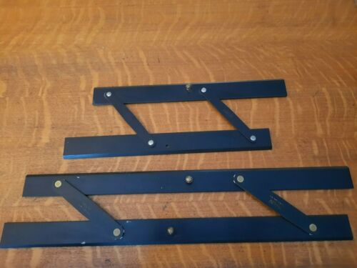 Pair of Parallel Lines Rulers, Mayline & Esco