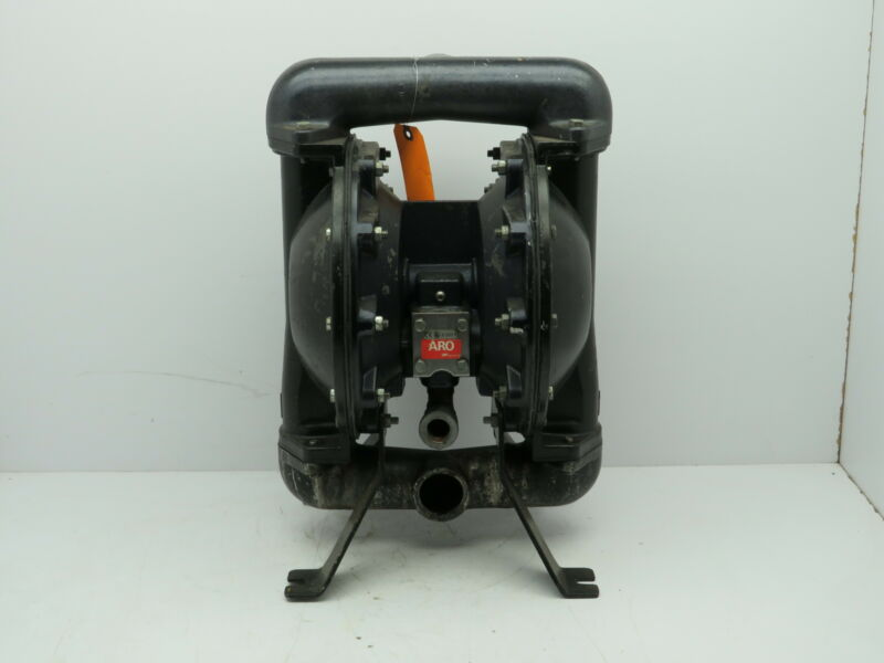 "Ingersoll Rand ARO Air Pneumatic Aluminum Diaphragm Pump 1-1/2""NPT Tested"