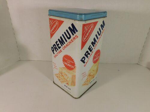 VINTAGE - 1969 -  NABISCO PREMIUM SALTINE CRACKER TIN