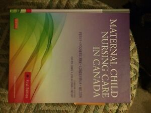 Maternal Child Nursing Care in Canada Text book