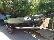 Aluminium 10 foot dinghy for sale good boat cheep on fuel Warnbro Rockingham Area Preview