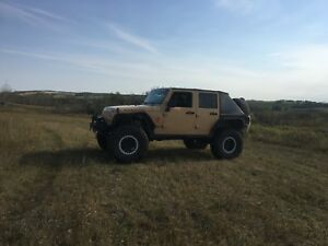 LS powered 2013 Jeep Jk unlimited Rubicon.
