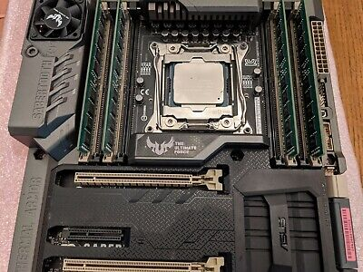 ASUS Sabertooth X99 Motherboard LGA2011-v3 With Xeon E5-2630v3 and 32GB DDR4