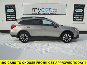 2016 Subaru Outback 3.6R Touring Package LEATHER, SUNROOF, NA...