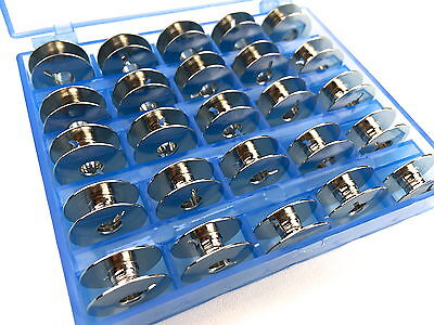 Spulenbox mit 25 Metall Spulen für Riccar Bernette Nähmaschine online kaufen