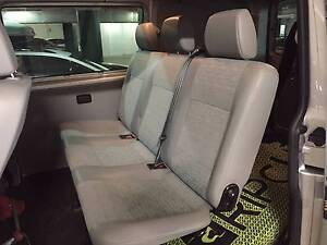 VW Transporter Rear Seats 2013 Model Coogee Eastern Suburbs Preview