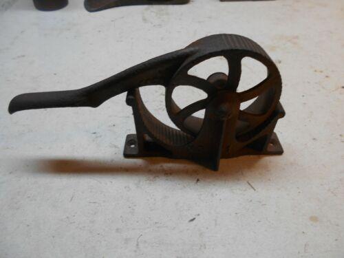 vintage 1867 cast iron Enterprise no-1 cork press sizer pharmacy corks wine cork