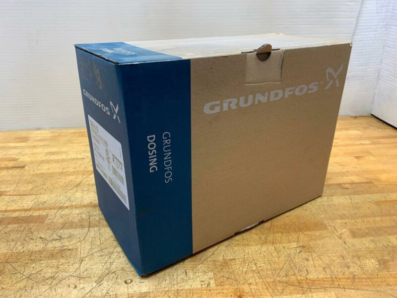 Grundfos Digital Dosing Pump 97721059 DDE 6-10 B-PVC/E/C-X-31U7U7BG