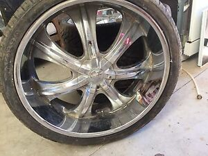 26 inch rims with tyres in perfect condition just need cleaning Wangaratta Wangaratta Area Preview