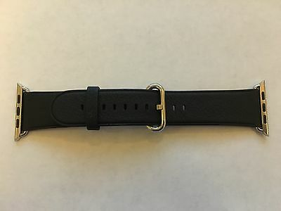 Genuine Apple  Watch Band -  42mm Black Classic Buckle - MMHD2AM/A