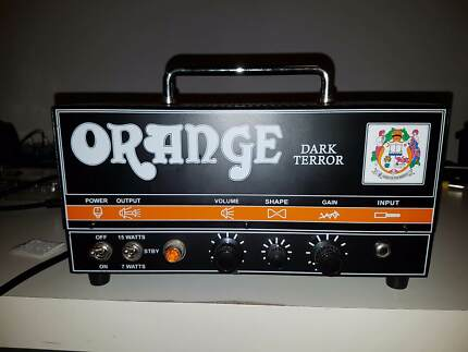 Orange DA15H Dark Terror 15-Watt Tube Guitar Head