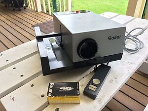 Rollei Slide Projector and accessories North Richmond Hawkesbury Area Preview