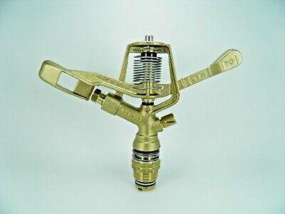 Vyr-70 Longest Throw 360 34 Brass Impact Sprinkler Replace Rain Bird 14070h